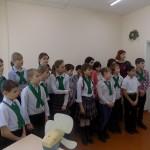 Экскурсия в школьный музей МБОУ СОШ №13 станицы Ленинградской