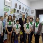 Встреча школьников с ветераном Н.И. Федоренко